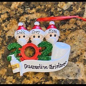 2020 Quarantine Christmas Ornament